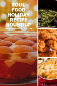 Soul Food Holiday Recipe Roundup Collard Greens With Bacon, Southern Collard Greens, Sweet Potato Cornbread, Sweet Potato Casserole, Vegan Mac And Cheese, Macaroni And Cheese, Vegan Banana Pudding, Vegan Biscuits And Gravy, Southern Style Green Beans