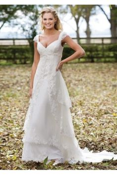 1000 images about simple wedding dresses on pinterest for Country style lace wedding dress
