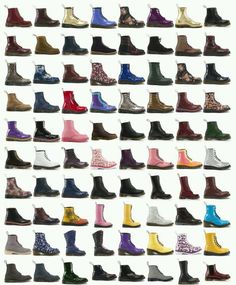 Doc Martens have been in style for almost 60 years, discover what made them so popular. We also discuss how to wear them in style! Dr. Martens, Botas Dr Martens, White Doc Martens, Doc Martens Outfit, Doc Martens Style, Doc Martens Boots, Sock Shoes, Shoe Boots, Luanna