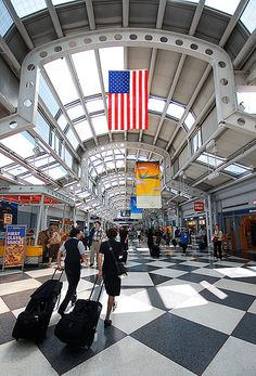 Flight Attendants at Chicago OHare