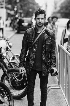 Photographer & motorcyclist Reid Rolls