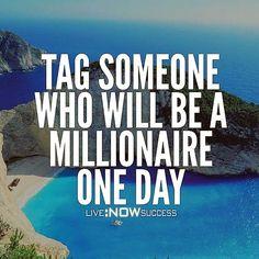 Show your friends some love!  #entrepreneur #success