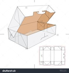 Blueprint Box With Blueprint Layout Stock Vector Illustration 169980887 : Shutterstock