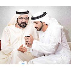 Mohammed bin Rashid bin Saeed Al Maktoum y Hamdan bin Mohammed bin Rashid Al Maktoum, 2015. Vía: ahmedalmarzouqi