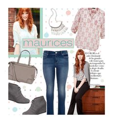 """""""The Perfect Blouse with maurices: Contest Entry"""" by edenslove ❤ liked on Polyvore featuring Arco and maurices"""