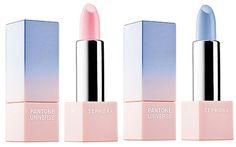 Brilhos da Moda: Maquilhagem rosa claro e azul céu