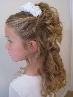 1000 Ideas About Kids Wedding Hairstyles On Pinterest