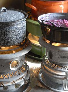 Uuuuuuren stond een pannetje op het petroleumstel.