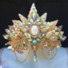 Sparkly Mermaid Crown by Pixie Glitz Shop     #mermaid #crown