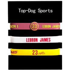 Silicone Wristband Bracelet NBA, LeBron James,Kyrie Irvin…