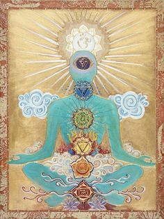 "Kundalini Yoga: ""Kundalini is based on a very simple principle that Yogi Bhajan has defined as the ""Principle of angles and triangles."" This principle is based on the concept that our magnetic field has a certain alignment, which may or may not be in harmony with the surrounding environment."" http://www.malibuchronicle.com/kundalini-yoga/"