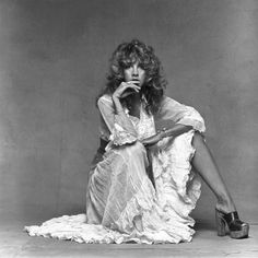stevie nicks - queen of the gypsies and (per Rolling Stone Magazine) the reigning queen of rock n' roll.
