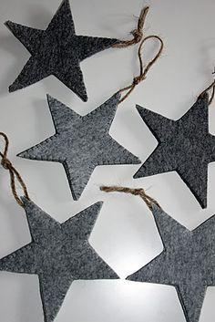 estrellas de fieltro