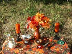 Altars:  Outdoor #Altar.