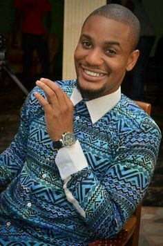 Groom And Groomsmen Wedding Suit Styles And Attire Ideas 2018 African Inspired Fashion, African Print Fashion, Fashion Prints, Suit Fashion, African Attire, African Wear, African Dress, African Shirts For Men, African Clothing For Men