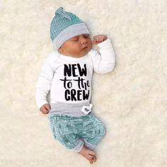 Long Pants Hat Infant Romper Outfit Set Ttkgyoe Baby Boy Playsuit Jumpsuit Clothes Set Bear Print Long Sleeve Bodysuit