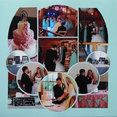 Layout created by Sandy Cucinotti using Lea France Pearls stencil.