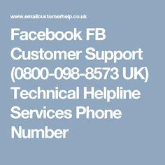 Facebook FB Customer Support (0800-098-8573 UK) Technical Helpline Services Phone Number