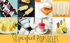 Do you love popsicles? Then you're going to love this collection of 50+ Perfect Popsicle Recipes - The Ultimate Summer Survival Guide!