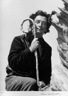 Dali and Weird Cane | #dali #salvadordali
