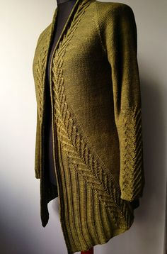 OMG - so divine - INK cardigan in Wollmeise