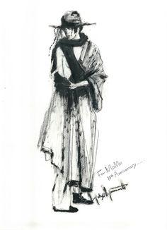 \ yohji yamamoto sketches ♡ #yohjiyamamoto