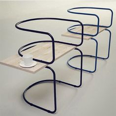 Café chairs from the AIR collection by Sargei Kotsepup