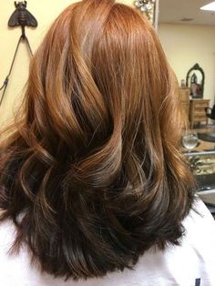 Reverse ombre red to brown . - Hair - Reverse ombre red to brown - Reverse Balayage, Reverse Ombre Hair, Brown Ombre Hair, Brown Hair Colors, Ombre Hair Color For Brunettes, Balayage Hair Purple, Blonde Color, Platinum Blonde Hair, Hair Trends