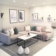 modern living room, country living room, living room furniture, living room decor ideas, small living room on a budget. Small Apartment Living, Small Living Rooms, Home Living Room, Living Room Designs, Living Room Furniture, Living Room Decor, Modern Living, Small Apartment Furniture, Living Spaces