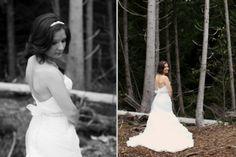 seattle wedding photographer aberdeen washington seabrook beach water river catholic rachael kruse photography photographer  bride trees forest