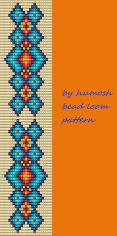 diamond bead loom pattern                                                       …