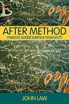 After Method: Mess in Social Science Research (International Library of Sociology) 1st edition by Law, John (2004) Paperback von John Law http://www.amazon.de/dp/B010WHJT5C/ref=cm_sw_r_pi_dp_jig4vb0K16CSW