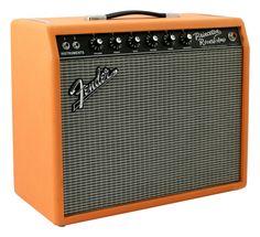 Fender Princeton Reverb Electric Guitar Amplifier Orange Tolex
