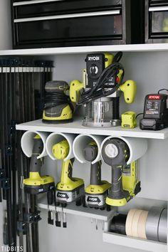 Facts about farmhouse mancave ideas Source by The post Garage Tool Storage and Organization Ideas & Tidbits appeared first on Wickens Contracting. Tool Storage Cabinets, Garage Tool Storage, Workshop Storage, Garage Workshop, Shed Storage, Garage Organization, Organization Ideas, Storage Ideas, Bike Storage