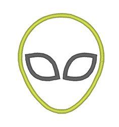 Designs :: Boys :: Alien Applique