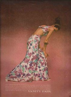 1970s Vanity Fair - Pajamas never looked so fabulous!
