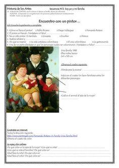 Title: Historia de los Artes Fernando Botero, Author: hispania, Length: 2 pages, Published: Spanish Teacher, Spanish Classroom, Teaching Spanish, Classroom Ideas, Spanish Art, Spanish Lessons, Diego Velazquez, Plastic Art, Delphine