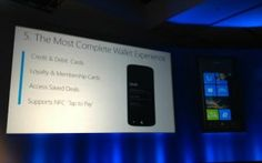 Microsoft's Wallet feature for Windows Phone will use NFC.