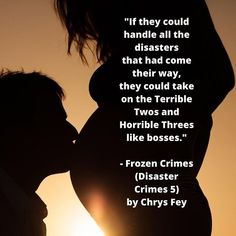 If you haven't read the end of Flaming Crimes (Disaster Crimes 4) yet, I apologize for the spoiler.🤰🏼Beth and Donovan will be amazing… Terrible Twos, Short Stories, Crime, Audiobooks, Fiction, Novels, Ebooks, Reading, Reading Books