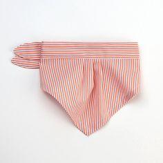 Hey, I found this really awesome Etsy listing at https://www.etsy.com/listing/163096999/dog-bandana-orange-stripes-cotton