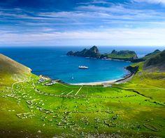 St. Kilda,  Scotland.