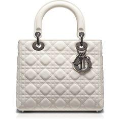 LADY DIOR Lady Dior Tasche Leder braun