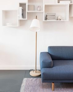 Friday feels with our Pull Lamp taking a playful approach to Scandinavian design with its oak wood body and white shade. #muuto #newperspectives