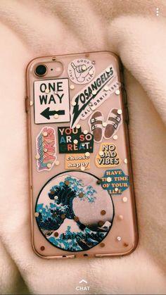 Cute clear phone case🤩 - #case #clear #cute #electronic #Phone