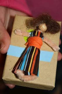 Guatemala - Worry Doll craft girt scout swap!! for world thinking day