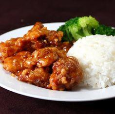 Orange chicken- such a good recipe!