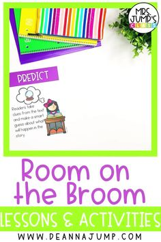 Looking for a great Halloween read aloud to share with your kindergarten and first grade students? Room on the Broom is great October book, and I have created kindergarten reading comprehension activities to go along with it!