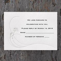 Ultimate Calla Lilies - Respond Card and Envelope     http://mediaplus.carlsoncraft.com/Weddings/Respond-Cards/3124-BSE9716-Ultimate-Calla-Lilies--Respond-Card-and-Envelope.pro?parentProductId=72366