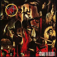 Classic Heavy Metal Album Covers: Slayer - Reign in Blood.