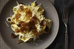 Diane Kochilas' Pasta with Yogurt and Caramelized Onions, a recipe on Food52